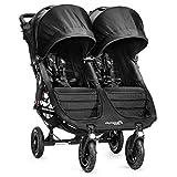 Baby Jogger City Mini GT Gemelar - Silla de paseo, color negro