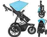 Papilioshop Manta – Cochecito ligero para niños y bebés ideal para caminar, hacer...